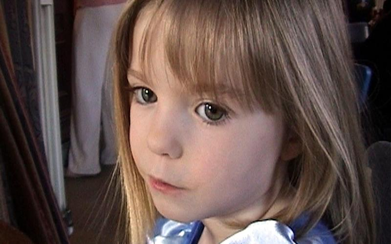 Madeleine McCann, who disappeared in May 2007 - AP