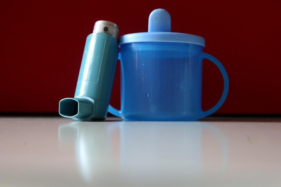 <p>Inhalers can be used to administer many medicines</p> (PA Archive)