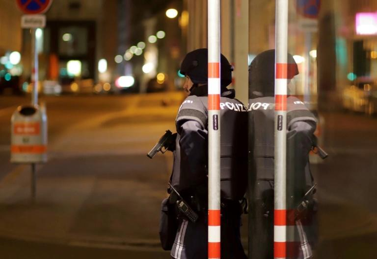 At least two people were killed, with several wounded, after attackers opened fire in six central locations of Vienna