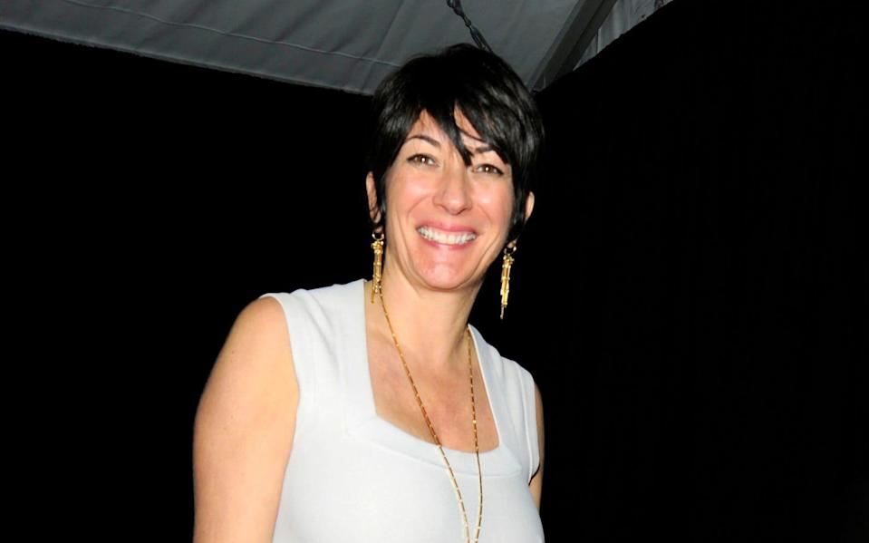 Ghislaine Maxwell photographed in February 2011 -  Credit: