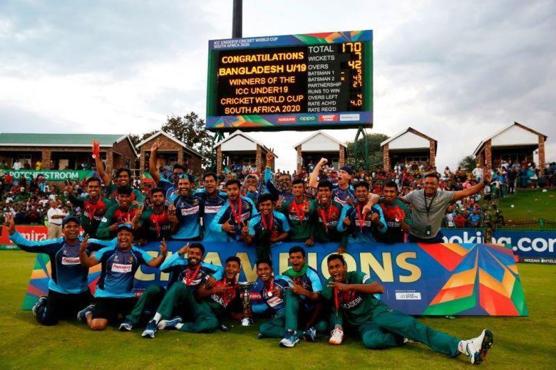 Bangladesh held their nerve in a close finish