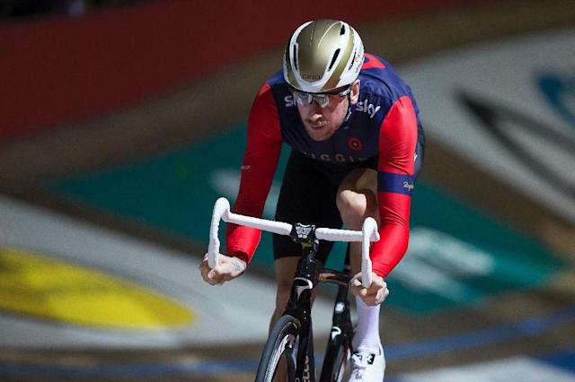 Britain's Bradley Wiggins, who won his fifth cycling gold medal in Rio last year, will return to the London Velodrome not to sit on a bike, but to compete in the British Indoor Rowing Championships (AFP Photo/KRISTOF VAN ACCOM)