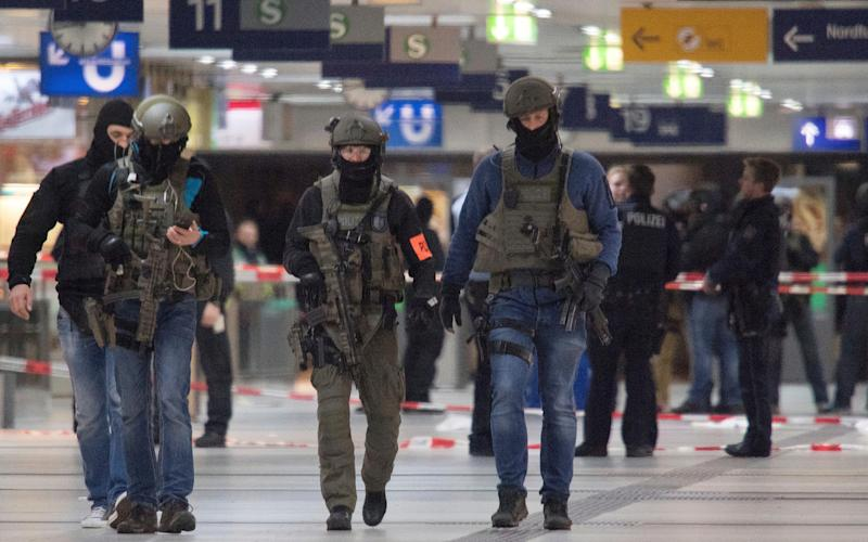 Germany is on high alert after December's attack in Berlin - Credit: Federico Gambarini/AP