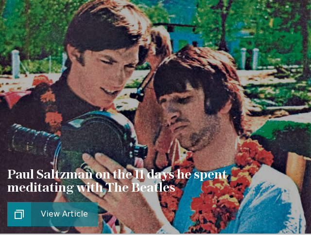 Paul Saltzman on the 11 days he spent meditating with The Beatles in Rishikesh