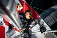 French German skipper Isabelle Joschke likened the final coronavirus test to the 'sword of Damocles'