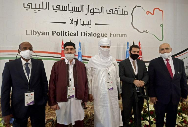 Libyan delegates attend UN-led talks in Tunisia aimed at preparing for elections in the conflict hit North African country where a ceasefire has held since October