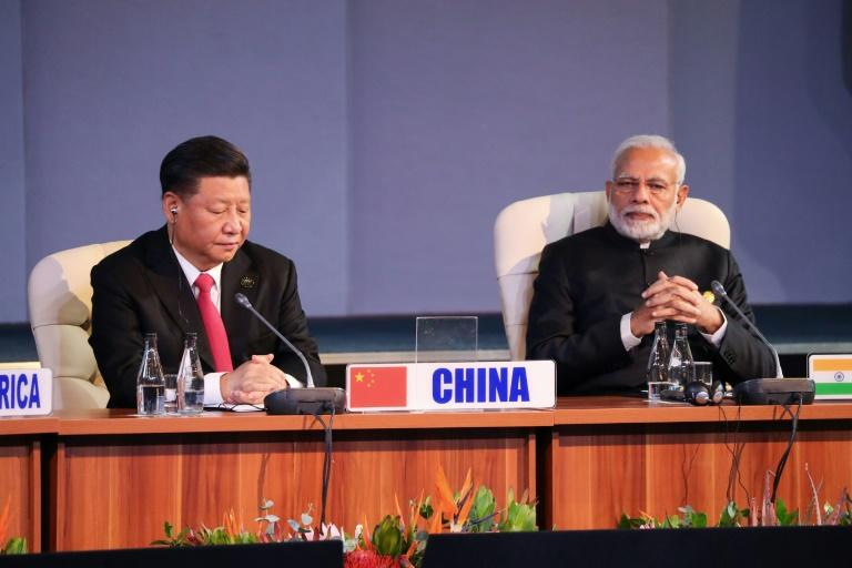 China's President Xi Jinping and India's Prime Minister Narendra Modi have met several times, including at the 10th BRICS summit in Johannesburg, South Africa, in July 2018