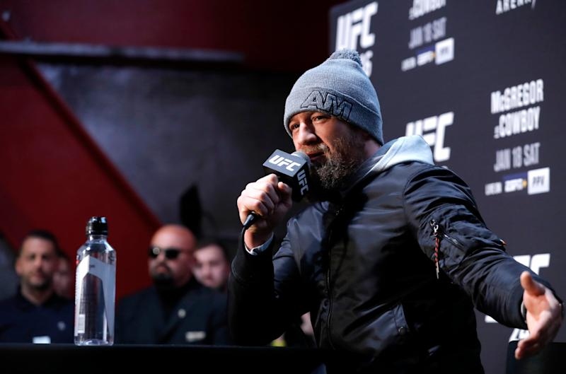 McGregor's representative denied the allegation (Getty Images)