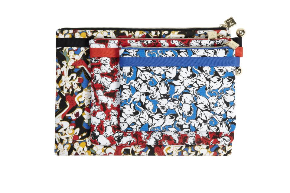 <b>Carolina Herrera for Target + Neiman Marcus Holiday Collection Travel Bag</b><br><br> Price: $39.99 (set of 3) <br><br>