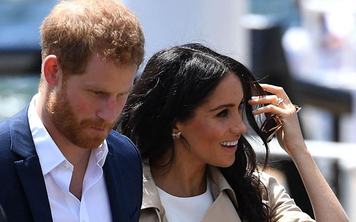 The Sussexes' interview with Oprah will air on Sunday - GETTY IMAGES