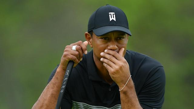The 101st US PGA Championship will be without Tiger Woods at the weekend after the 15-time major winner missed the cut.