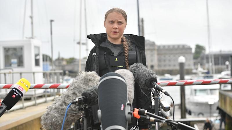 Look after your children at Greta Thunberg protest, police warn parents