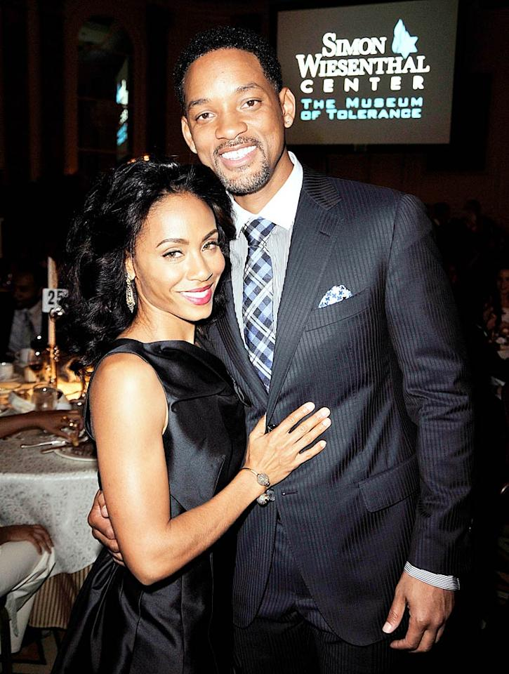 "Even after 12 years of marriage -- that's forever in Hollywood years! -- Jada Pinkett Smith and Will Smith make it work. What's their secret? Jada's said ""nice outfits and high heels"" are key. Kevin Winter/<a href=""http://www.gettyimages.com/"" target=""new"">GettyImages.com</a> - May 5, 2009"