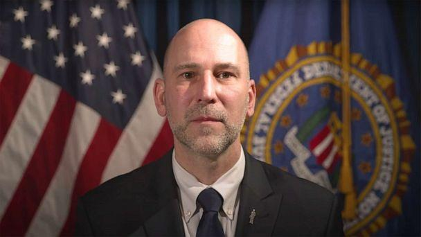 PHOTO: Steven M. D'Antuono, assistant director in charge of the FBI's Washington Field Office speaking in an FBI video on March 18, 2021. (FBI)