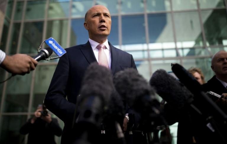 Australia's former home affairs minister, Peter Dutton, quit after a failed leadership bid but has made no secret of still wanting to run the country