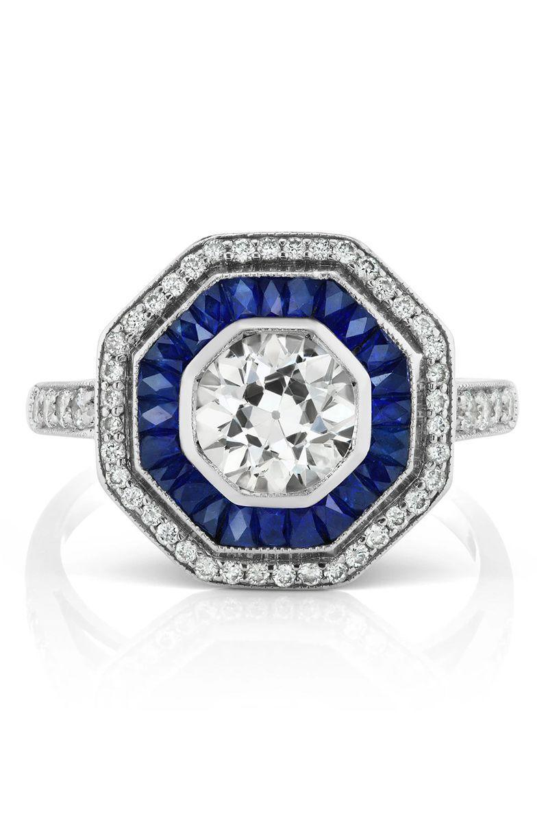"<p><strong><em>Briony Raymond</em></strong><em> Estate Old Mine Diamond and Sapphire Ring, $14,500, <a href=""http://www.brionyraymond.com/"" rel=""nofollow noopener"" target=""_blank"" data-ylk=""slk:brionraymond.com"" class=""link rapid-noclick-resp"">brionraymond.com</a> </em><a class=""link rapid-noclick-resp"" href=""http://www.brionyraymond.com/"" rel=""nofollow noopener"" target=""_blank"" data-ylk=""slk:SHOP"">SHOP</a></p>"