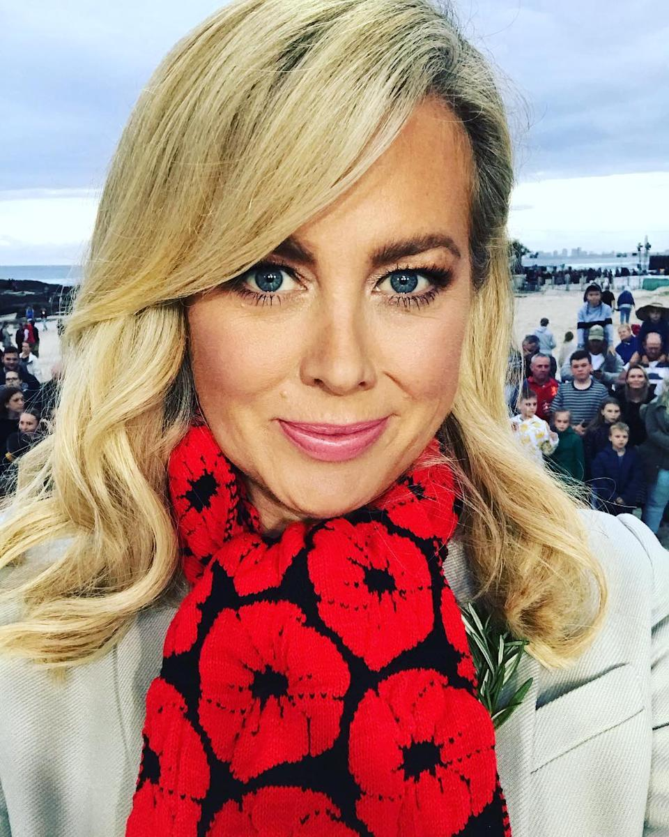Former Sunrise host Samantha Armytage has blasted the 'hopeless' politicians over their reaction to the Covid-19 pandemic. Photo: Instagram/Samantha Armytage