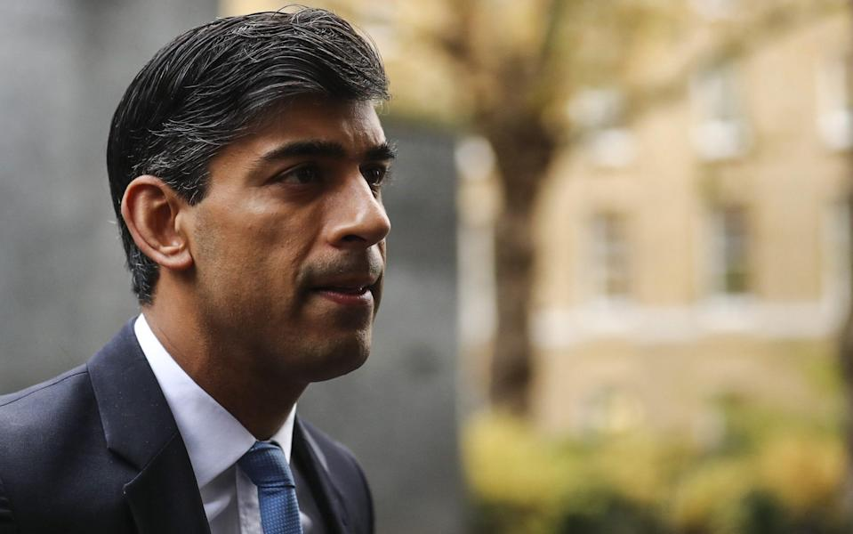 Rishi Sunak said he was ' committed to ensuring that departments are well-equipped to provide the support that British business and people need to prosper' - Simon Dawson/ Bloomberg