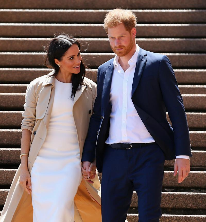"Prince Harry and Meghan Markle take their first <a href=""https://www.huffingtonpost.ca/entry/pregnant-meghan-markle-royal-tour-schedule_ca_5cd570c4e4b07bc729781d30?utm_hp_ref=ca-royal-tour"" target=""_blank"" rel=""noopener noreferrer"">royal tour of Australia</a> and New Zealand. During their time Down Under, they meet with the Australian Governor General, the prime minister, the opposition leader, watched the Invictus Games, and more."