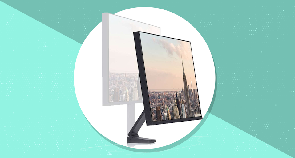 Save $50 on this Samsung Space Monitor that can save you more desk space. (Photo: Samsung)