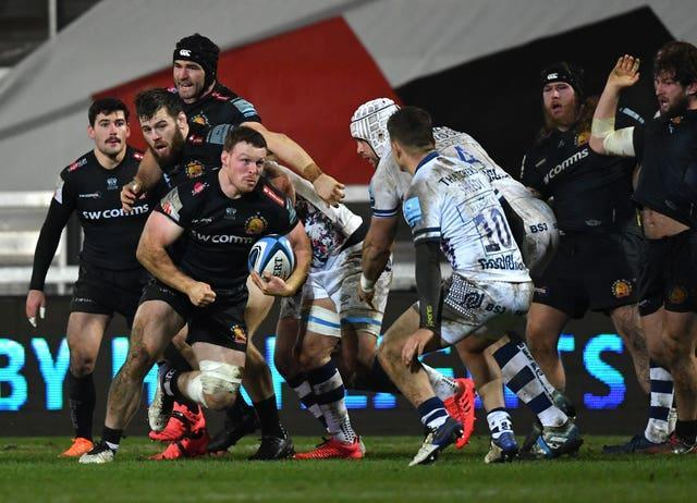 Exeter and Bristol played last Saturday but now have two weekends without games