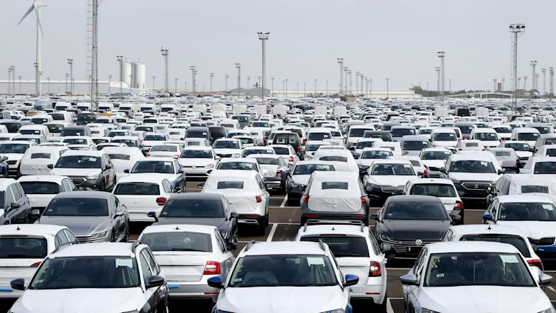 Car production falls as industry reels from virus crisis