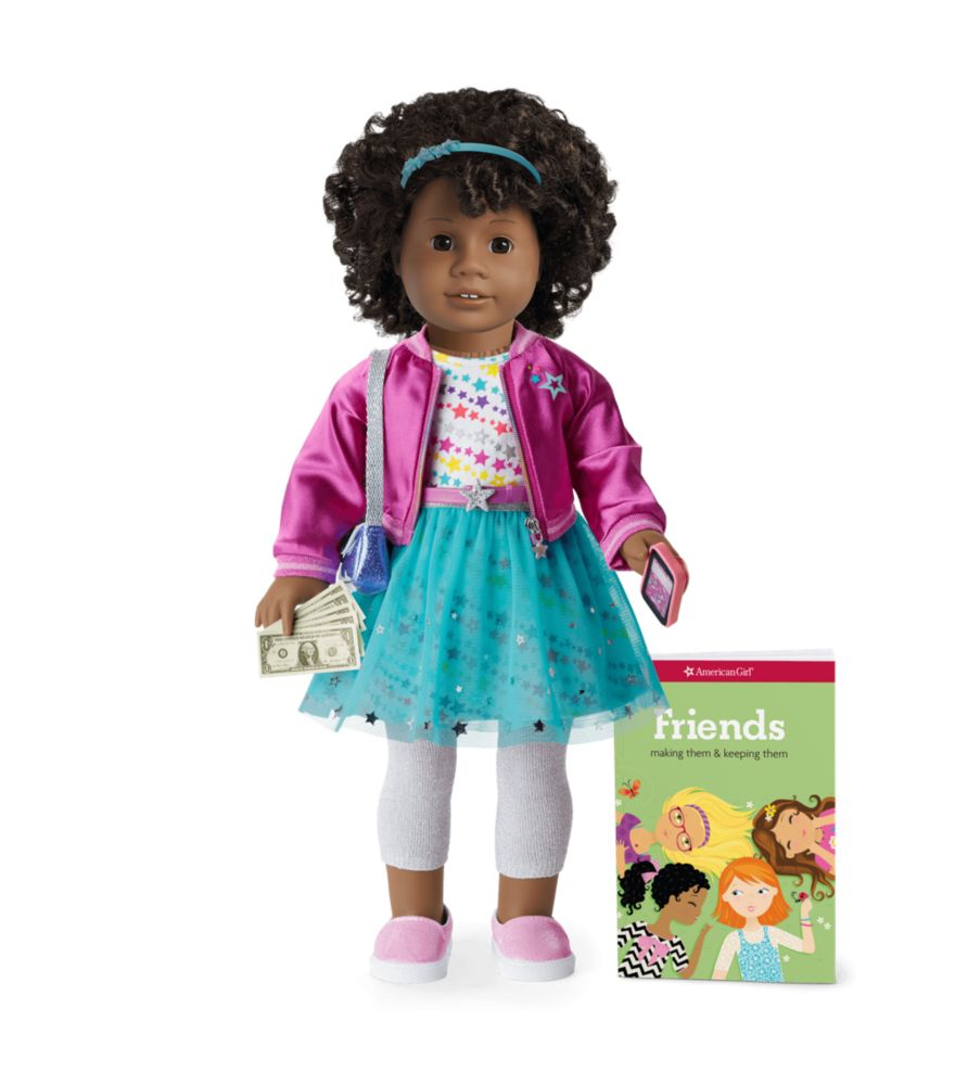 "<strong>American Girl</strong> americangirl.com <strong>$140.00</strong> <a href=""https://go.redirectingat.com?id=74968X1596630&url=https%3A%2F%2Fwww.americangirl.com%2Fshop%2Fp%2Ftruly-me-doll-58-plus-sparkle-and-shine-accessories-06bun55&sref=https%3A%2F%2Fwww.goodhousekeeping.com%2Fchildrens-products%2Ftoy-reviews%2Fg29553257%2Fbest-toys-gifts-for-10-year-old-girls%2F"" rel=""nofollow noopener"" target=""_blank"" data-ylk=""slk:Shop Now"" class=""link rapid-noclick-resp"">Shop Now</a> For American Girl's Truly Me line, kids can choose the look of an 18"" doll to be whatever they want. (Long hair? Short hair? No hair?) Afterwards, the kids then help fill in the details of her personality. All dolls come with a star outfit and nylon bomber jacket, along with ""sparkle and shine"" accessories. <em>Ages 8+</em>"