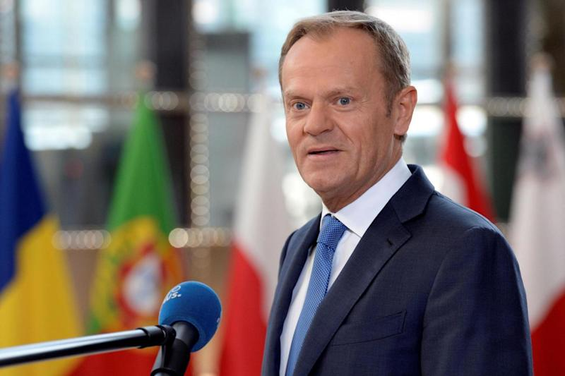 Donald Tusk said talks were 'difficult enough' without getting over-emotional (AFP/Getty Images)