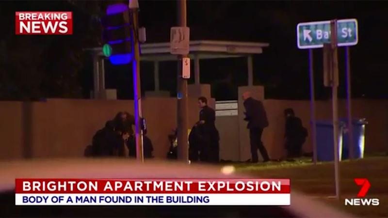 The scene of the hostage incident. Source: 7 News