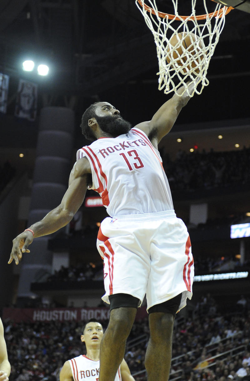 Harden has averaged 37 points in last 3 games