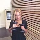 """<p>Beyoncé posted this video a few years ago, but it shows just how long she been going hard on her cardio and strength training. Here you can see the singer do a series of standing side crunches, full body sit-ups with a medicine ball, alternating dumbbell punches, forward lunges, and lateral bench hops. </p><p><a href=""""https://www.instagram.com/p/zijeo3Pw8H/?utm_source=ig_embed&utm_campaign=loading"""" rel=""""nofollow noopener"""" target=""""_blank"""" data-ylk=""""slk:See the original post on Instagram"""" class=""""link rapid-noclick-resp"""">See the original post on Instagram</a></p>"""