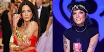 <p>Halsey knows how to make an entrance on the red carpet, and the singer has honed her skill for striking a model-esque pose. </p>