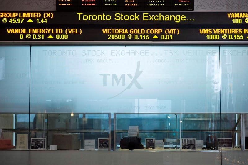 TSX ends week higher on positive sentiment from potential virus treatment