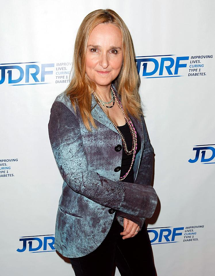 """In an interview with PopEater, singer-songwriter Melissa Etheridge spoke  openly about gay stereotypes, including the absurdity of being called  """"not gay enough."""" Says Etheridge, """"I've had the gay community say, 'Why  don't you write a song saying <em>her</em>? Your lyrics are non-gender.'  They're never happy. And the straight folks, they just assume the lyrics  are about a woman, and they assume that if they go to a concert it's  going to be all gay people. There are stereotypes we all have. But  there's no us and them. Good God, we're all the same."""""""