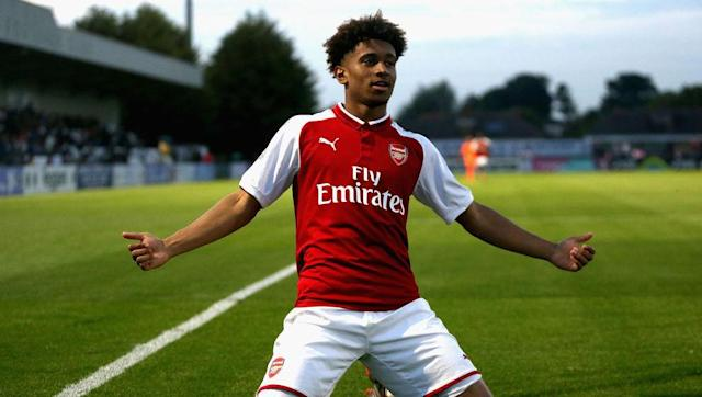 <p>Expectations surrounding Nelson are high at the Emirates, and understandably so. It has been quite a while since Arsenal had a player come through their ranks that looks so obviously destined for the top. </p> <br><p>The 17-year-old oozes confidence and is blessed with quick feet, tremendous pace and marvellous control, not to mention a ruthlessness in front of goal. Comparisons with a certain Arsenal great, <em>who must not be named</em>, are inevitable.</p> <br><p>With impressive performances in Europe so far this season, particularly against BATE Borisov last time out, there is certainly a maturity in the way Nelson plays. With consistent game time careful nurturing, there may be no need for Arsenal to look elsewhere for a replacement.</p>
