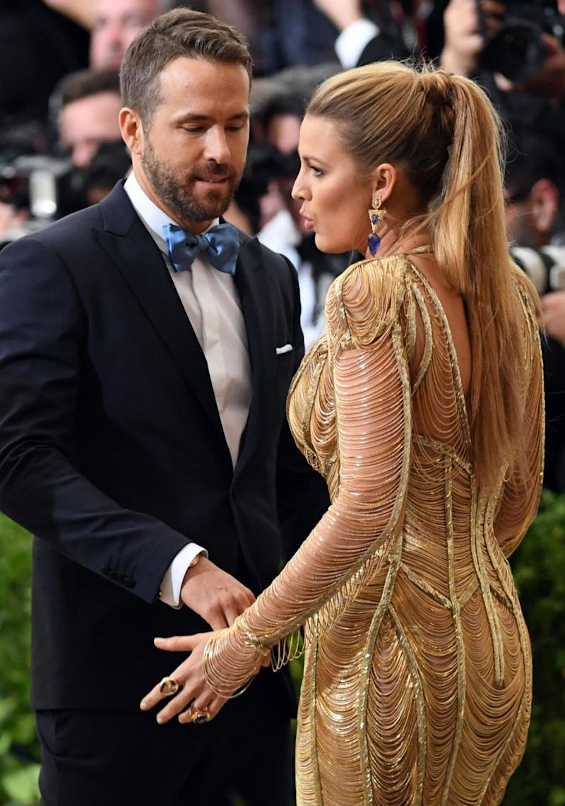 They're one of Hollywood's it-couples, but unfortunately Ryan Reynold and Blake Lively are going to be spending some time apart. Source: Splash