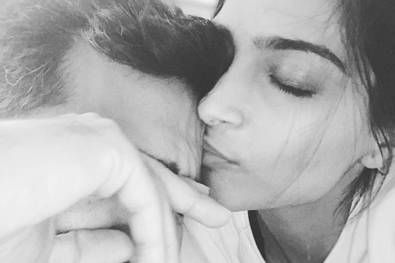 Sonam Showers 'Sleepy Hungry Baby' Anand with Kisses, He Requests to Sing Him Bob Marley Song