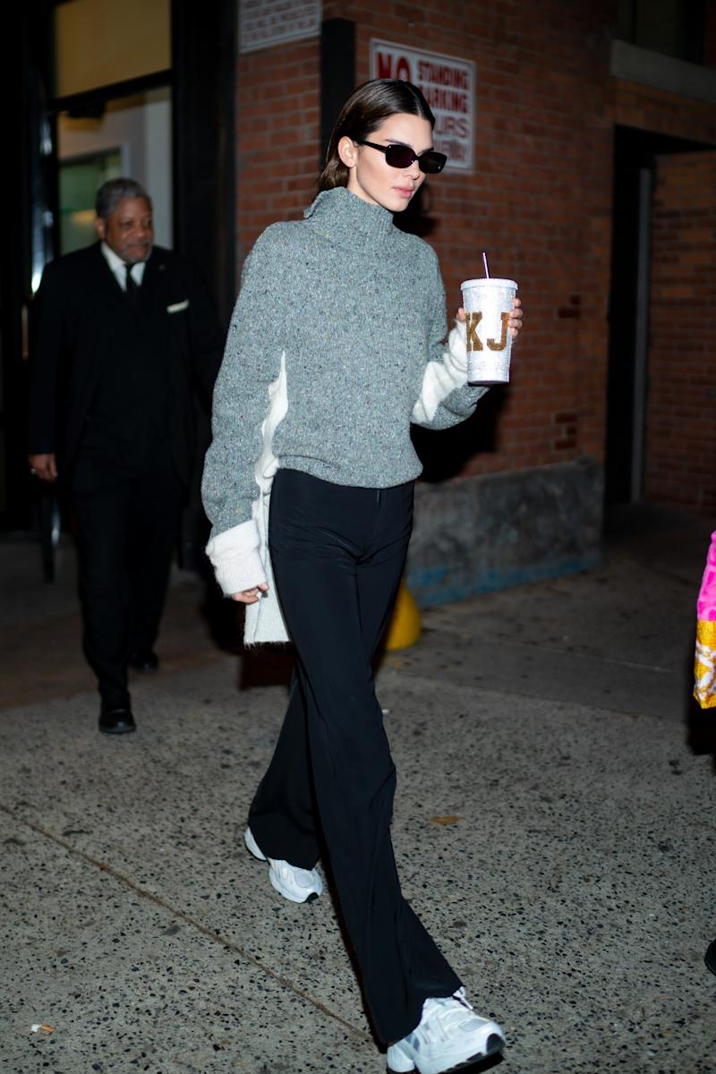 Kendall Jenner Proves a Reusable Cup Is the Best Accessory