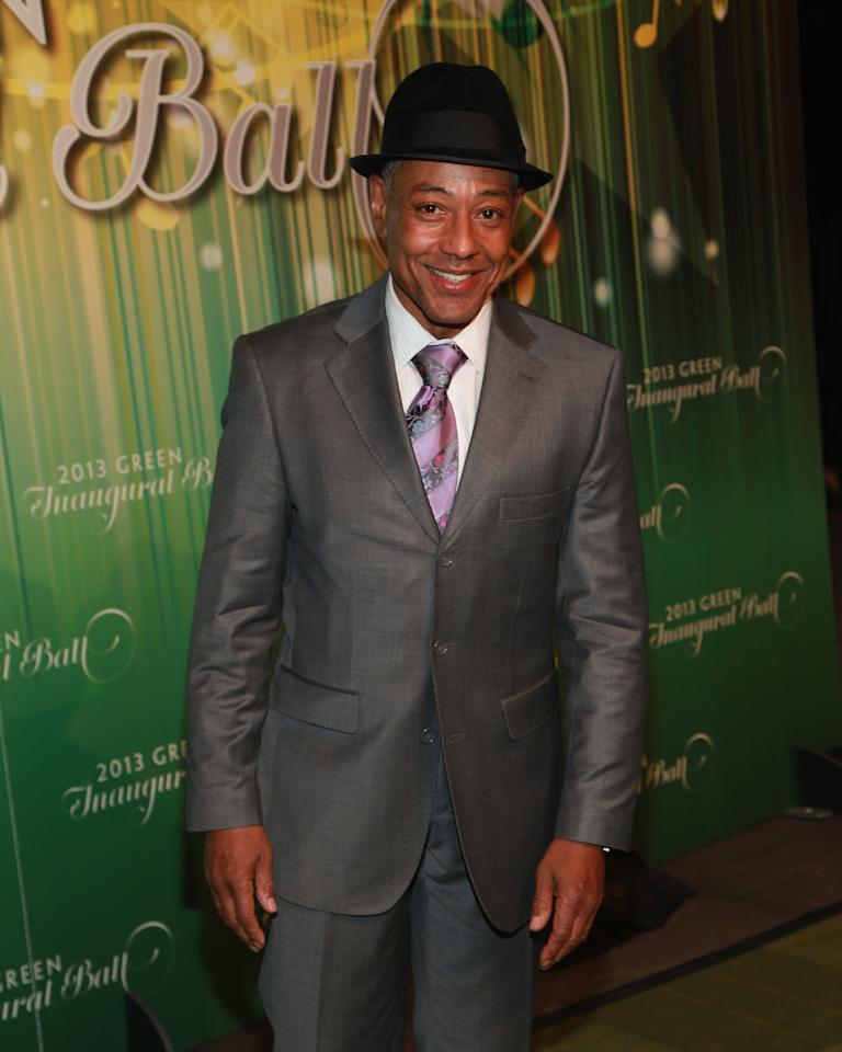 WASHINGTON, DC - JANUARY 20:  Actor Giancarlo Esposito attends the 2013 Green Inaugural Ball at NEWSEUM on January 20, 2013 in Washington, DC.  (Photo by Taylor Hill/Getty Images)