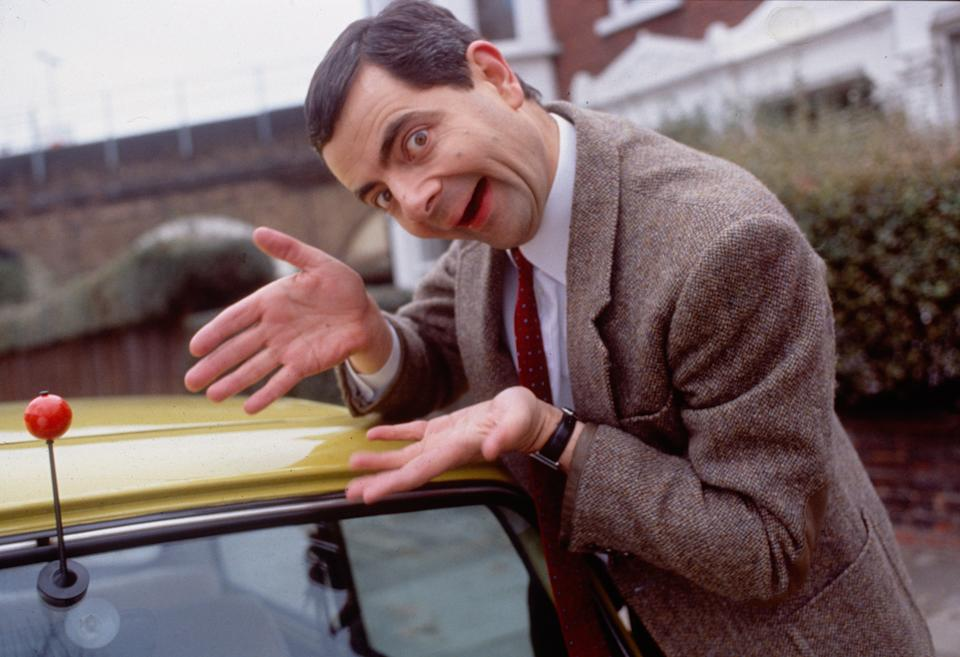 UNSPECIFIED, ENGLAND: Rowan Atkinson as Mr Bean as part of the 1999 Red Nose Day Campaign (Photo by Comic Relief/Comic Relief via Getty Images)