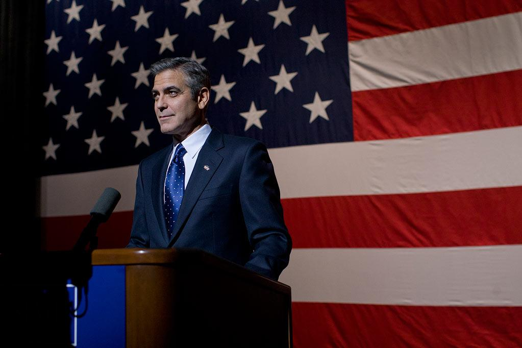 """<a href=""""http://movies.yahoo.com/movie/contributor/1800019715"""">George Clooney</a> in Columbia Pictures' <a href=""""http://movies.yahoo.com/movie/1810155680/info"""">The Ides of March</a> - 2011"""
