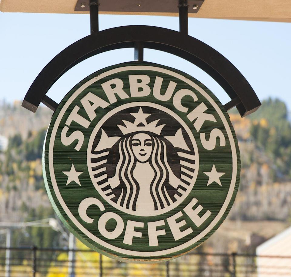"""<p>Grab a Pumpkin Spice Latte on Thanksgiving morning! <a href=""""https://www.countryliving.com/food-drinks/a28581188/starbucks-thanksgiving-hours/"""" rel=""""nofollow noopener"""" target=""""_blank"""" data-ylk=""""slk:Starbucks will be open on Thanksgiving"""" class=""""link rapid-noclick-resp"""">Starbucks will be open on Thanksgiving</a>, though locations and hours may vary.</p><p><strong><a href=""""https://athome.starbucks.com/store-locator/"""" rel=""""nofollow noopener"""" target=""""_blank"""" data-ylk=""""slk:Find a location"""" class=""""link rapid-noclick-resp"""">Find a location</a>.</strong></p>"""