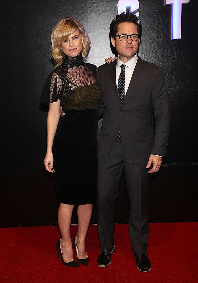 """MEXICO CITY, MEXICO - MAY 07:  Actress Alice Eve and film Director J.J. Abrams attend the """"Star Trek Into Darkness"""" Mexico City premiere at Cinepolis Plaza Carso on May 7, 2013 in Mexico City, Mexico.  (Photo by Victor Chavez/WireImage)"""