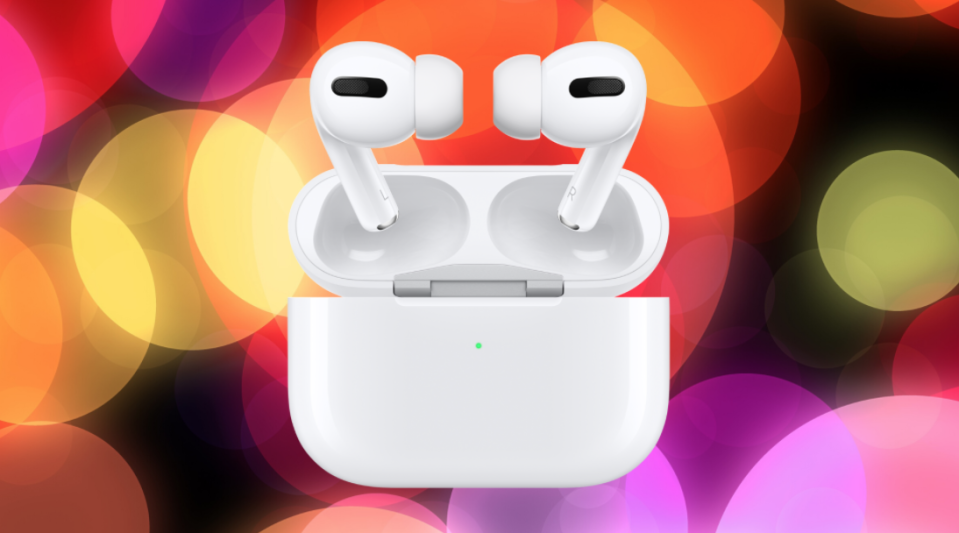 You can still snag the AirPods Pro on sale. (Photo: Apple)