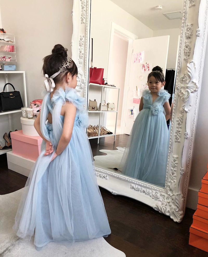 "Ha Truong on the ""Crazy Rich Asians"" Inspired Dress She Made for Her Daughter"