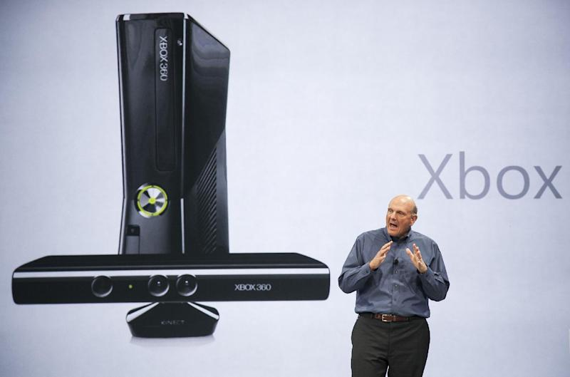 FILE - In this June 18, 2012 photo, Microsoft CEO Steve Ballmer comments on Microsoft Xbox before unveiling its new Surface, a tablet computer to compete with Apple's iPad at Hollywood's Milk Studios in Los Angeles. With the next Xbox expected to finally be revealed Tuesday, May 21, 2013, at Microsoft's headquarters in Redmond, Wash., anticipation for what the company is planning for the next iteration of its gaming console is higher than Master Chief's last spaceship. (AP Photo/Damian Dovarganes, File)