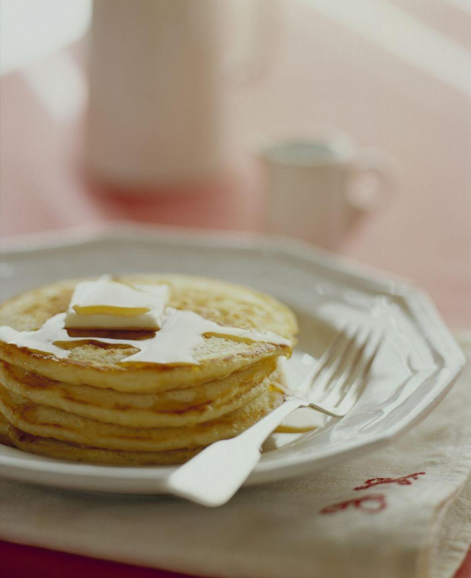 <p>Thick pancakes require more effort and more patience than crepes, but they'll reward you beyond measure. As well as patience, you'll also need good ingredients, so treat yourself to some nice flour and eggs.</p>