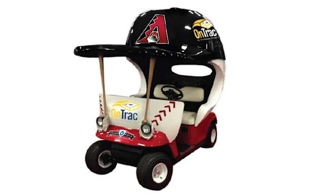 The Arizona Diamondbacks are bringing back a beloved baseball artifact: the bullpen car. (Diamondbacks)