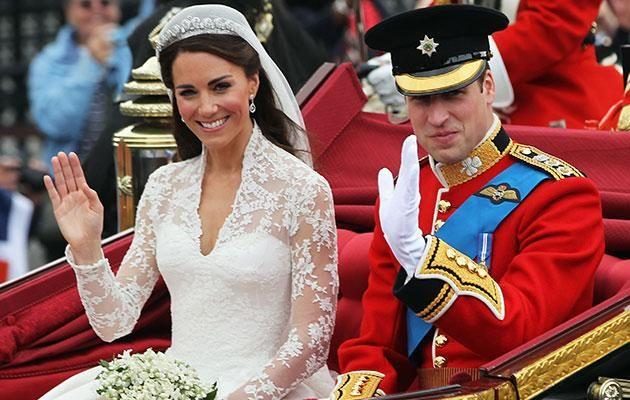 Prince William and Kate on their wedding day in April 2011. Photo: Getty