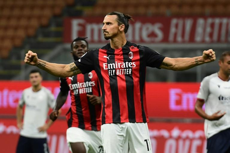 Ibrahimovic in doubt for Milan derby after new positive virus test
